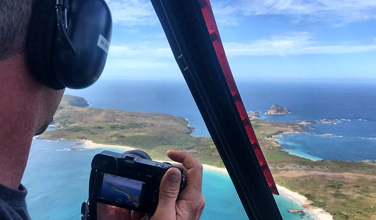 Helicopter Flight, 40-45 Minutes - Port Stephens and Stockton Beach - For 2
