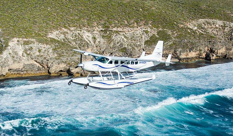 Scenic Seaplane Flight, Return - Swan River to Rottnest Island