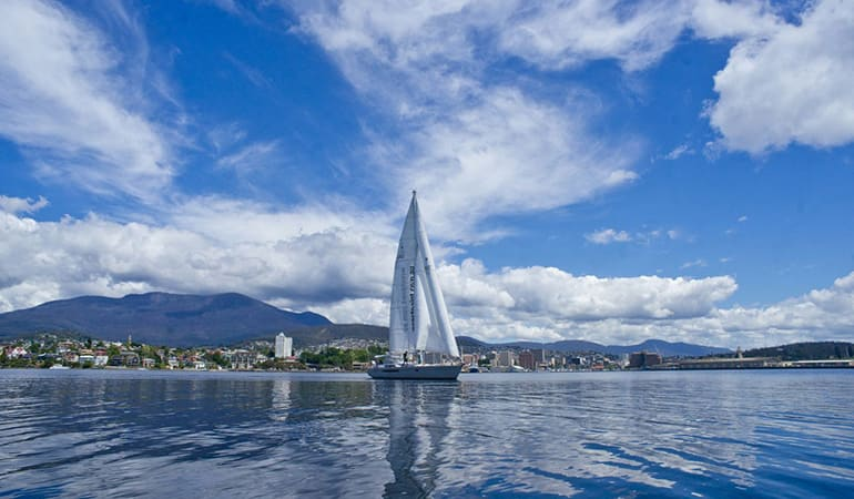 Sail on a Luxury Yacht, 3 Hours - The Derwent, Hobart - For 2