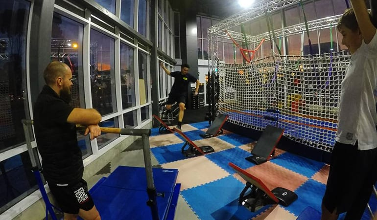 Australian Ninja Obstacle Course and Gym Facilities - Melbourne