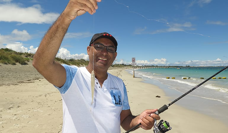Beach Fishing Lesson, 3 Hours - Perth