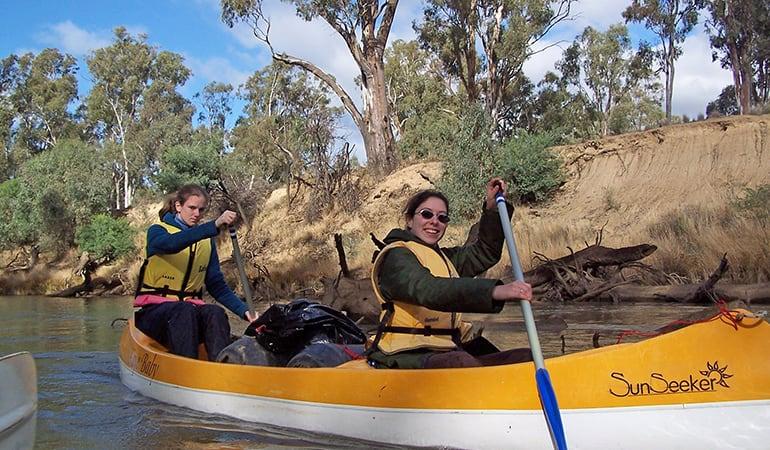 Goulburn River Kayak and Camping Trip, 2 Days, Includes Gear - Wyuna