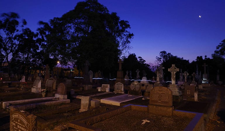 Cemetery Ghost Tour, 2 Hour - South Brisbane Cemetery