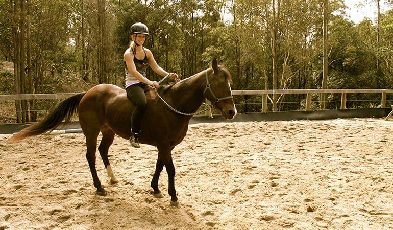 Horse Riding and Half-Day Spa Visit – Gold Coast Hinterland