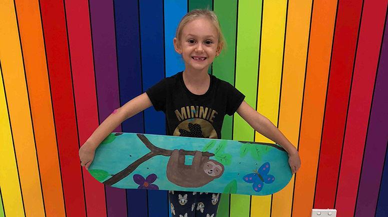 Kids Skateboard Deck Painting Class - 2 Hours – Gold Coast