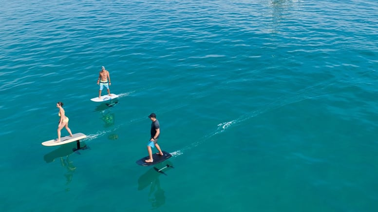 Fliteboard Lesson, 90 Minutes - Church Point, Sydney