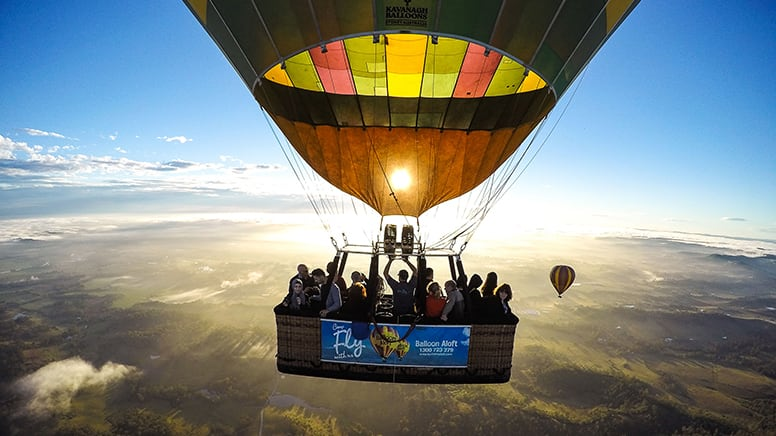 Hot Air Balloon with Breakfast, 1 Hour - Hunter Valley