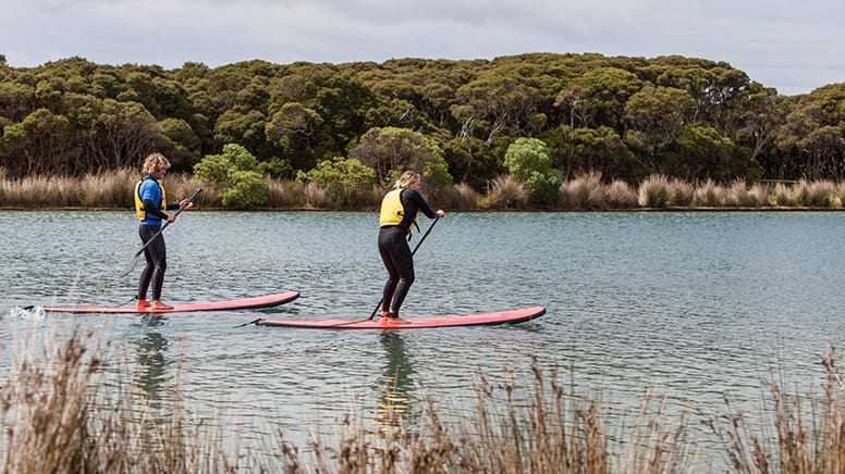 Stand Up Paddle Board Lesson, 90 Minutes - Anglesea, Great Ocean Road