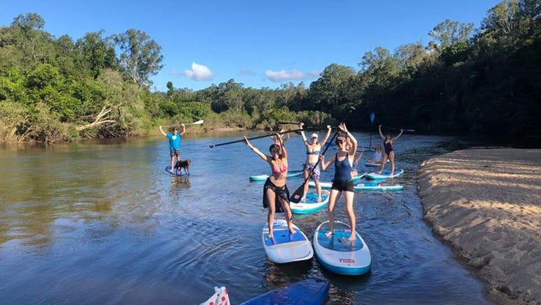 Sunrise Stand Up Paddle Board Group Lesson - Palm Cove, Cairns