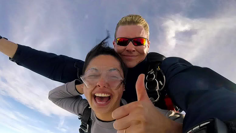 Tandem Skydive 10,000ft, Weekend - Latrobe Valley, Victoria