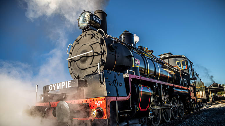 Mary Valley Classic Rattler Run Return Ticket Departs Saturday - Gympie, QLD