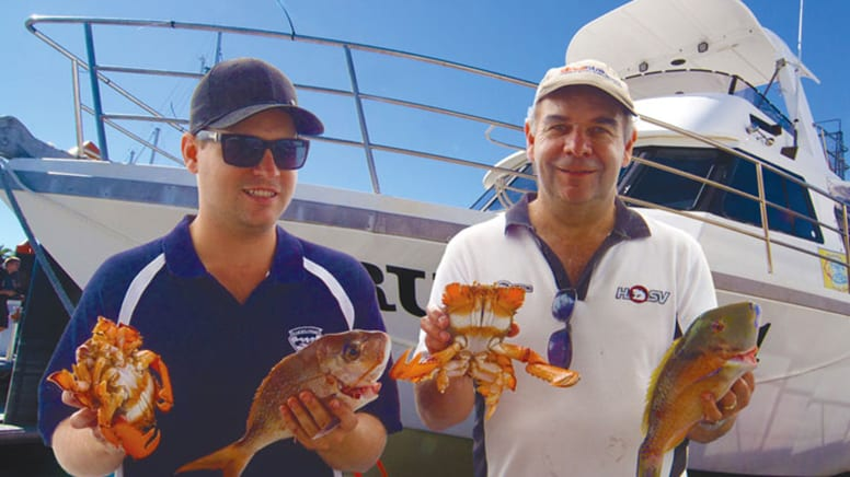 Deep Sea Fishing and Crabbing Trip, Half Day - Sunshine Coast