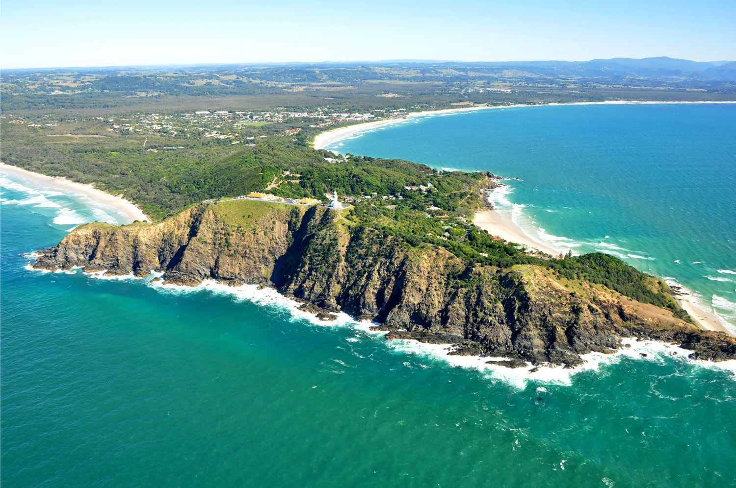 Helicopter 30min Scenic Flight For 2 People - Byron Bay