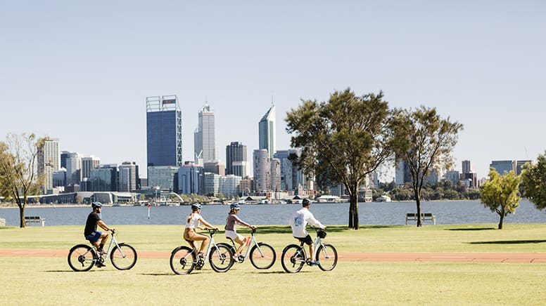 Bike Tour, 3 Hours - Foreshore and East Perth