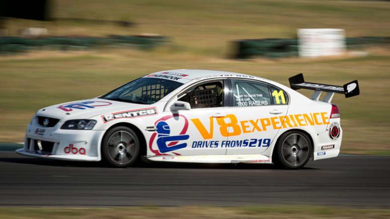 V8 Race Car 9 Lap Drive, Weekends - Queensland Raceway