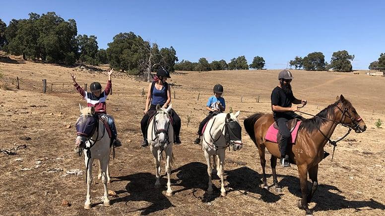 Horse Riding Adventure, 1 Hour - Jarrahdale, Perth
