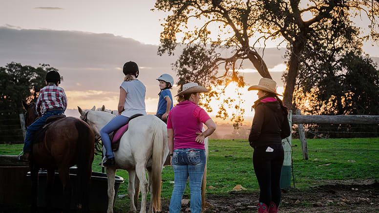 Horse Riding Adventure, 1 Hour - Jarrahdale, Perth - For 2