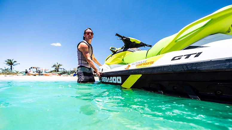 Jet Ski Tour, Full Day - Geraldton to Pink Lake, WA
