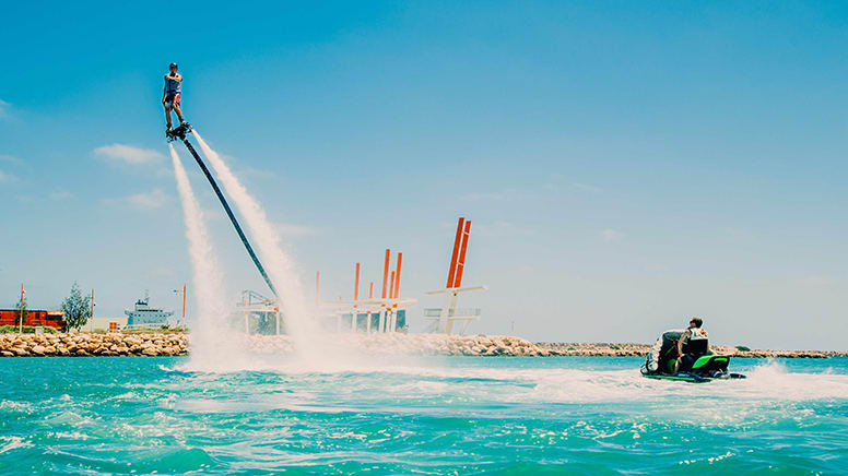 Flyboard Introduction Experience, 15 Minutes - Geraldton, WA