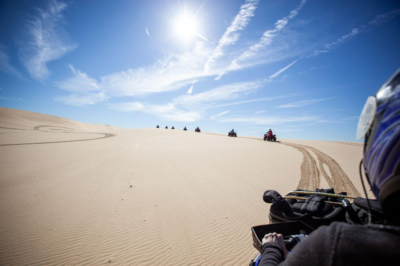 Quad Biking Sand Dunes Adventure, 1 Hour - Port Stephens