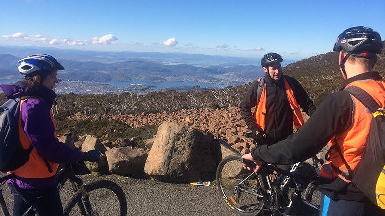 Mount Wellington Descent Cycling Tour, 3 Hours - Hobart