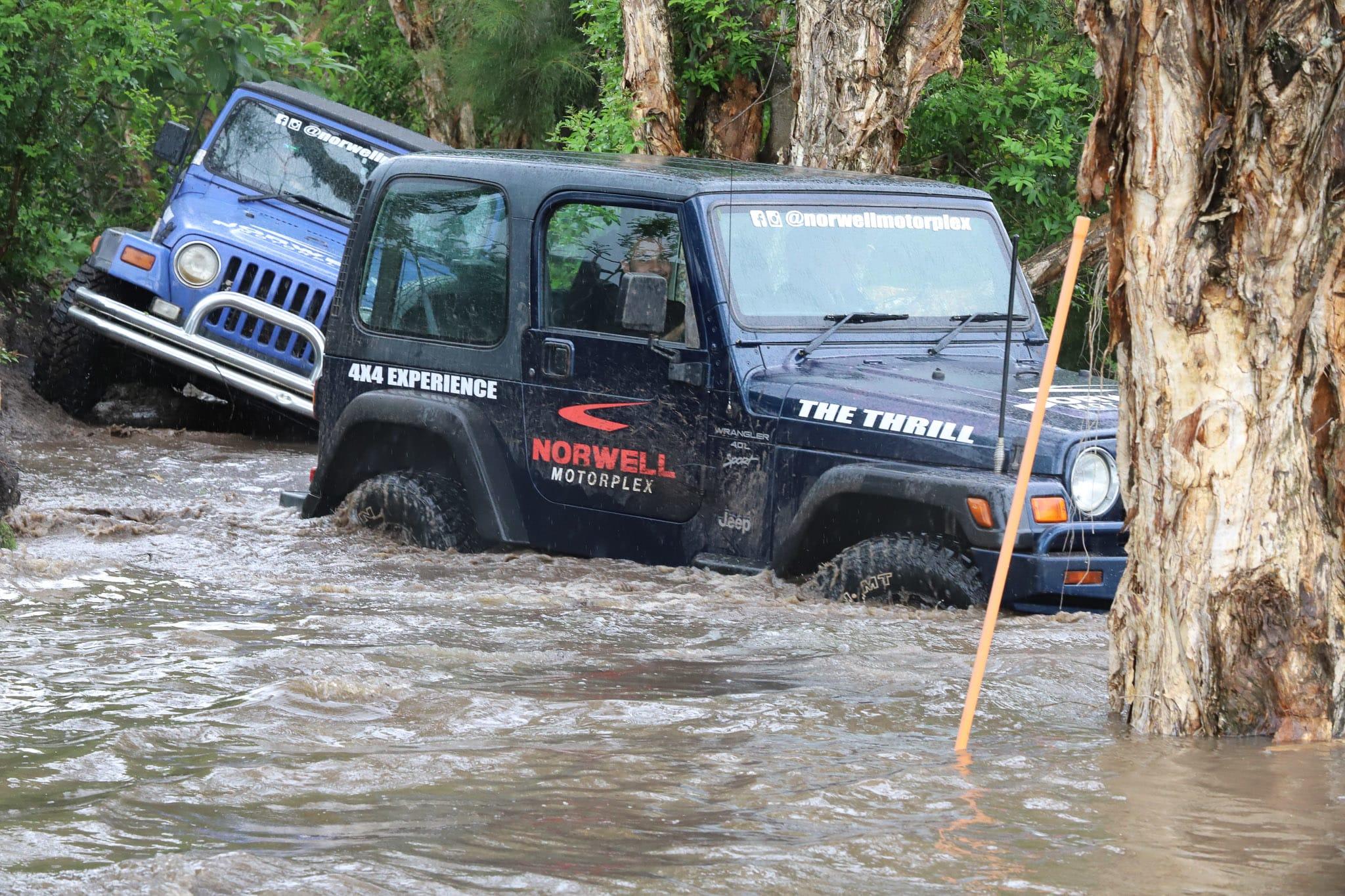 4x4 Jeep Off Road Experience, 30 Minutes - Norwell Motorplex, Gold Coast