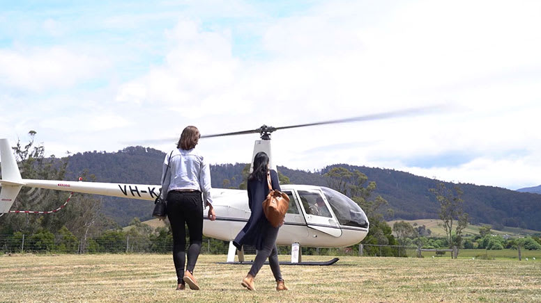 Private Helicopter Flight with Pub Stops and Tastings - Launceston - For 3