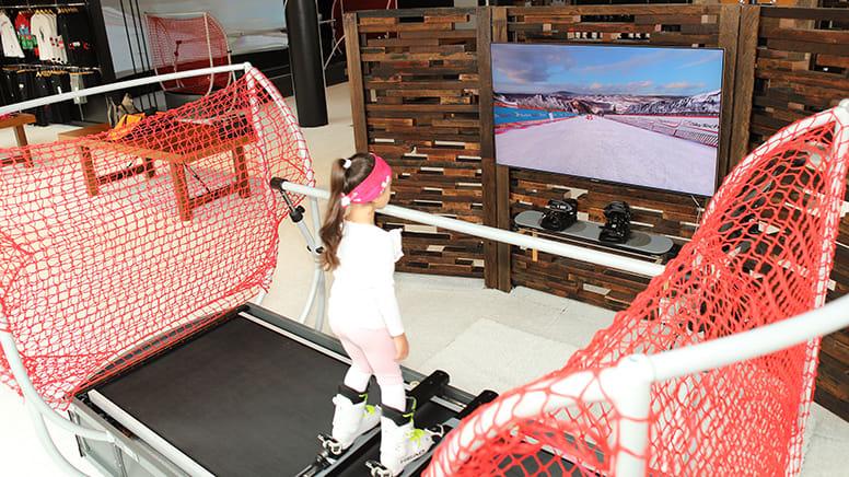 Kids Ski or Snowboard Simulator Session, 30 Minutes - Moore Park, Sydney