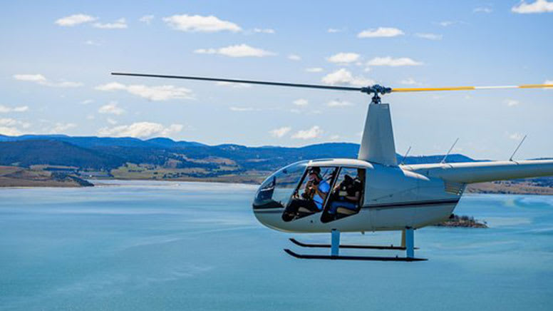 Scenic Helicopter Flight, 50 Minutes - Tasman Island - For 2