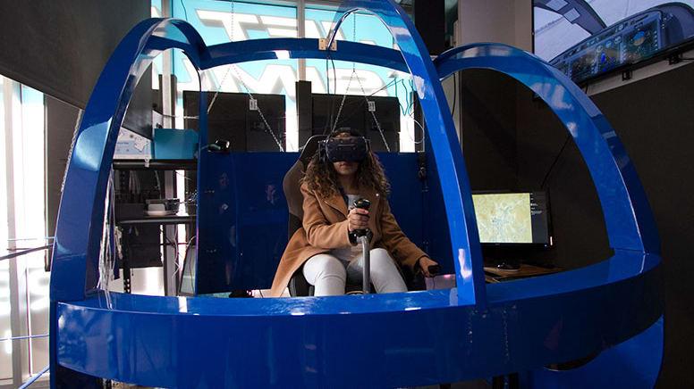 Full Motion VR Helicopter Simulator, 30 Minutes - Melbourne