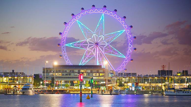 Melbourne Star Observation Wheel Admission - Fly and Dine