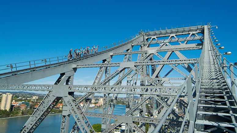 Story Bridge Climb, Twilight, with Walk The Plank - Brisbane