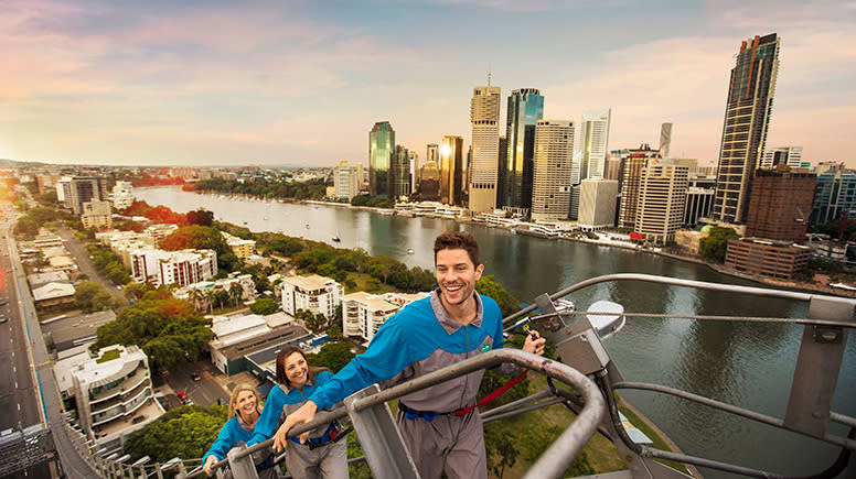Story Bridge Climb, Twilight, with Cantilever Lean Out - Brisbane