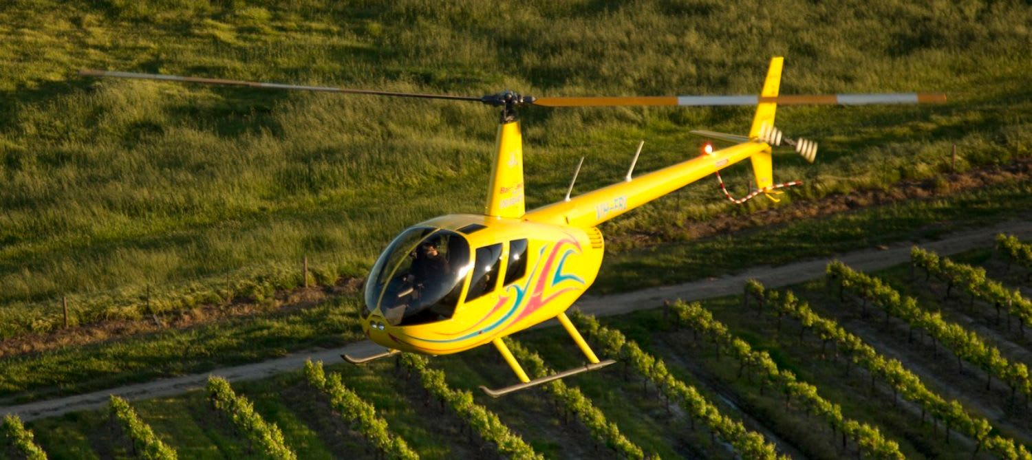 Private Scenic Helicopter Flight, 15 Minutes - Barossa Valley - For 2