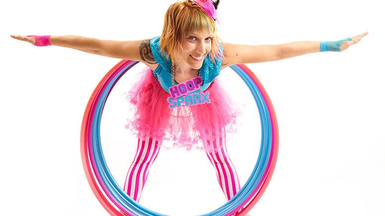 Kids Online Live Hula Hoop Lesson, 40 Minutes