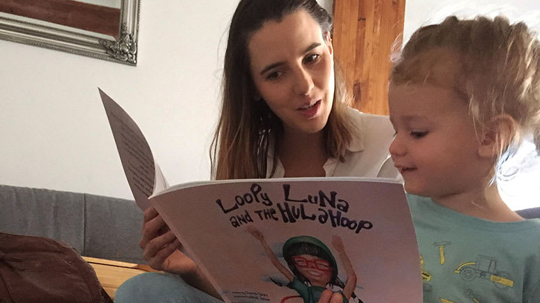Kids Online Live Storybook Reading and Hula Hoop Lesson