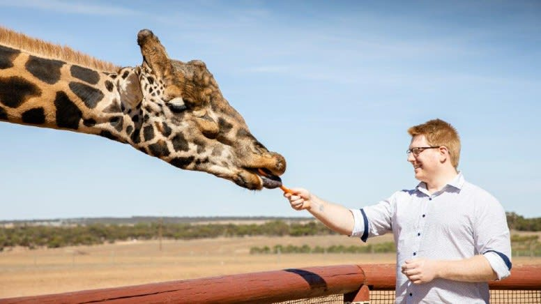 Monarto Safari Park Open Range Admission - Adelaide