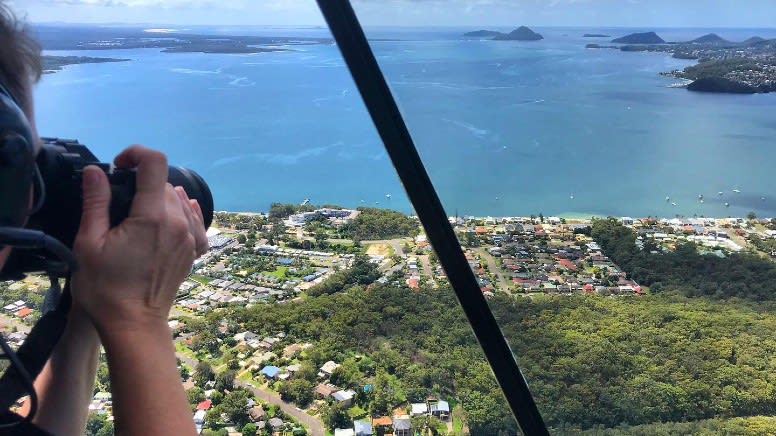 20 Minute Doors Off Helicopter Flight, Newcastle - For 2