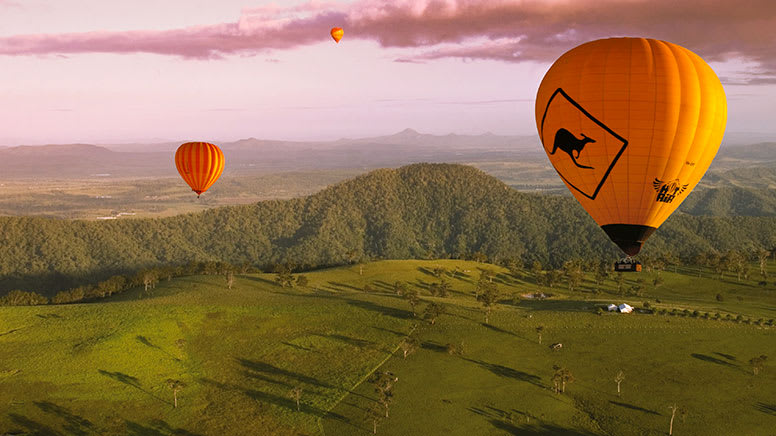 Hot Air Balloon and Jet Boat Adventure Combo – Gold Coast - For 2