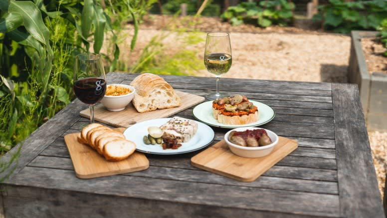 Farmers Lunch and Natural Hot Spring Bathe for 2 - Mornington Peninsula