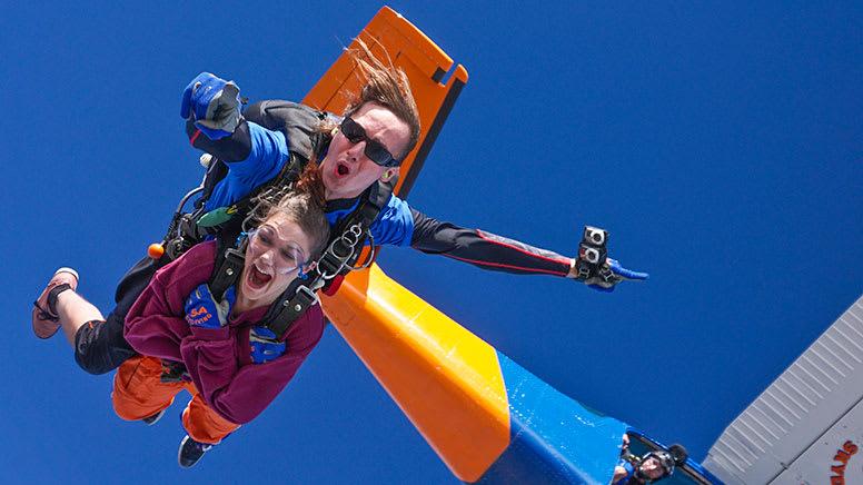 Tandem Skydive, 12,000ft - Basham Beach, South Australia