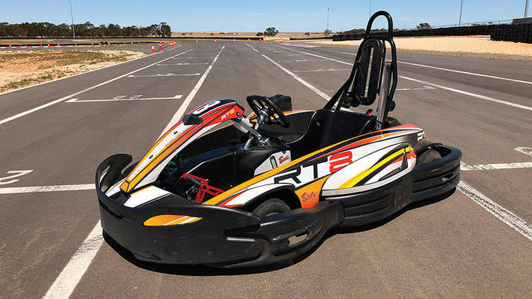 Drive Day with V8 and Go Kart, Half Day - Adelaide