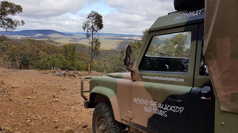 Guided 4WD Tour, 1 Hour – Blue Mountains