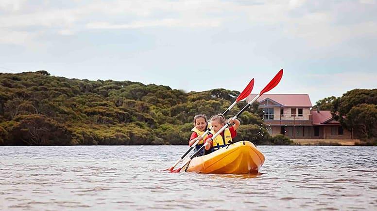 Double Kayak Hire, 4 Hours – Kangaroo Island – For 2