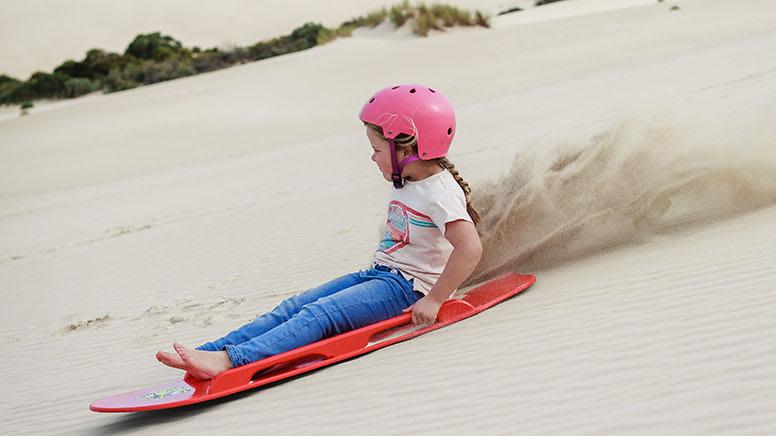 Sandboard or Toboggan Hire, 2 Hours – Little Sahara Sand Dunes, Kangaroo Island