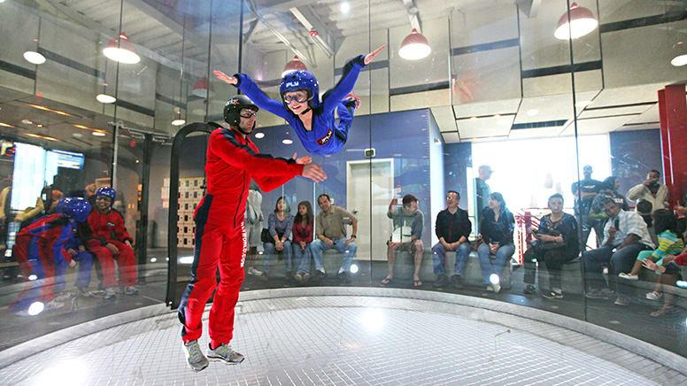 iFLY Indoor Skydiving, 4 Flights – Queenstown