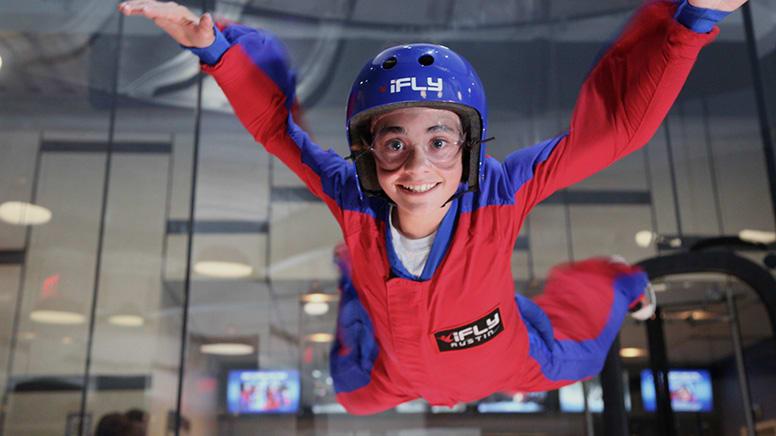 iFLY Indoor Skydiving, 10 Flights – Queenstown – For up to 5