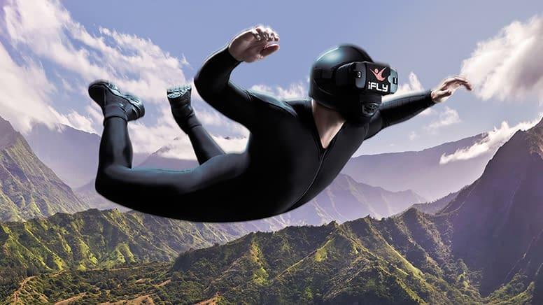 iFLY Indoor Skydiving, 2 Flights & 1 Virtual Reality Flight - Queenstown