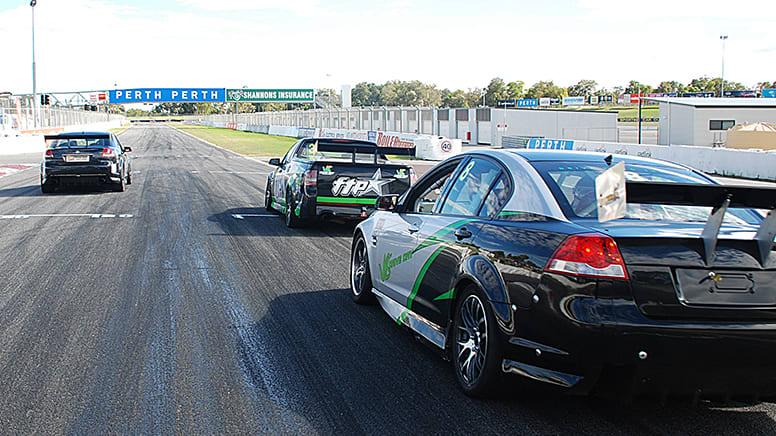 V8 Race Car Drive 7 Lap Combo Ride and Drive - Perth