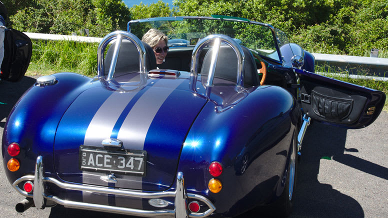 Vintage Car 2000 AC Cobra Full Day Hire – Sydney